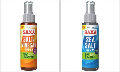 Clever new product SPRAYS salt and vinegar onto your fish and chips