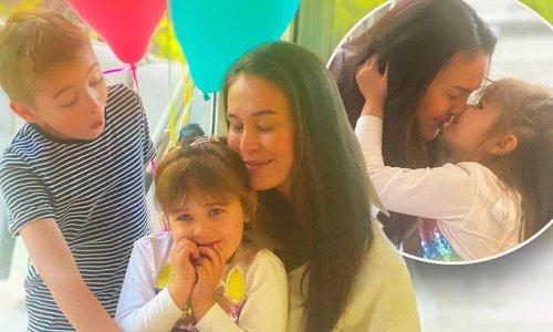Megan Gale celebrates daughter Rosie's fourth birthday