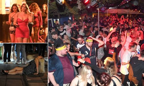 Revellers across UK mark first Friday club nights since 'Freedom Day'
