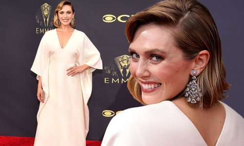 Elizabeth Olsen dons gown from sisters Ashley and Mary-Kate's The Row