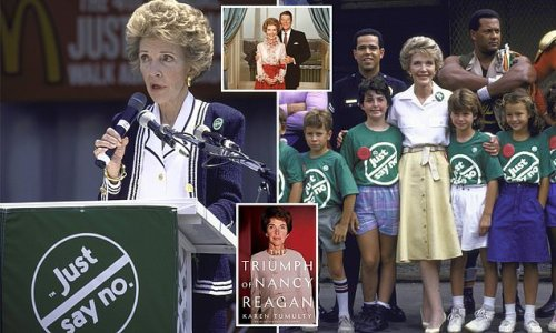 Nancy Reagan was secretly hooked on pills during Just Say No campaign
