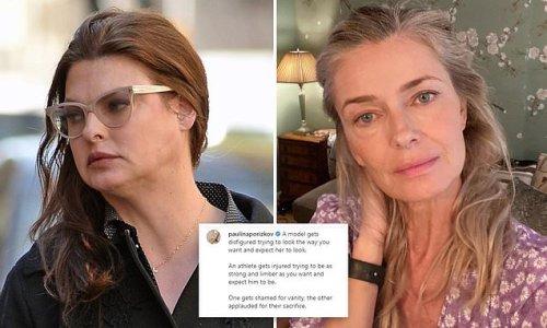 Paulina Porizkova hits back at critics who 'shamed' Linda Evangelista
