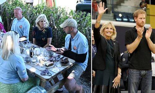 Jill Biden touts great work of Prince Harry's Invictus Games