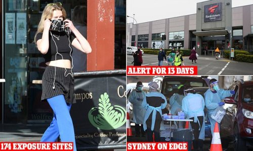 RECORD number of 174 new Covid exposure sites listed in Sydney