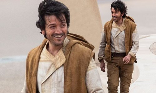 Star Wars: Andor's Diego Luna seen on set of Rogue One prequel series