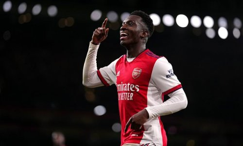 Mikel Arteta: Eddie Nketiah will be a top, top player at Arsenal