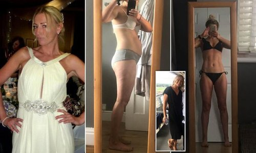 Mother, 39, says 'body building' supplements helped her ditch mum tum