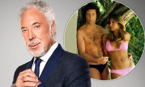 Tom Jones says divine intervention saved him in shark-infested waters