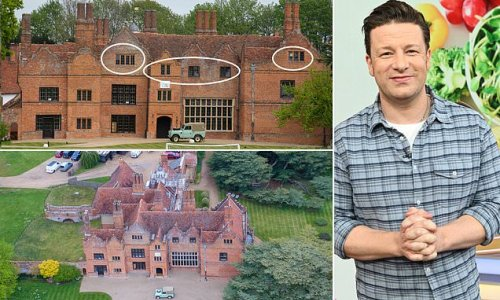 Jamie Oliver plans to add three bedrooms to his 12-bed Essex mansion