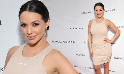 Scheana Shay attends Grand Opening of Kyle Chan's store in LA