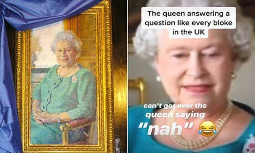 Royal fans go wild as 2005 clip of the Queen saying 'nah' resurfaces