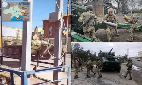 Ukraine warns Putin of 'painful consequences' if troops cross border