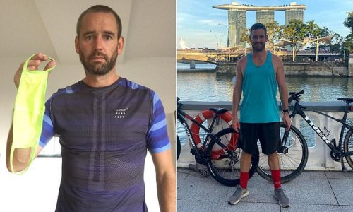 Brit faces 6 months in Singapore jail after riding train without mask