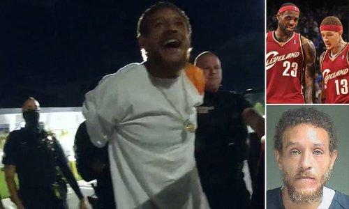 Ex-NBA player Delonte West hurls profanities at cops in arrest video