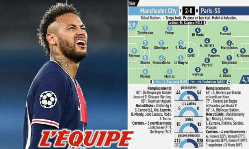 L'Equipe slam 'astonishing waste' Neymar and hand him lowly 3/10 score