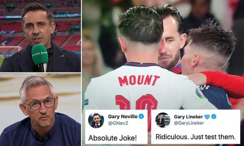 Neville and Lineker slam call to put Mount and Chilwell into isolation
