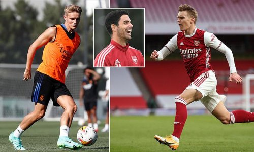 Arsenal 'keeping close tabs on unsettled Real Madrid star Odegaard'
