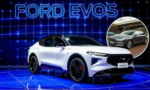 Is this the car that's killed Mondeo? Ford's Evos crossover revealed