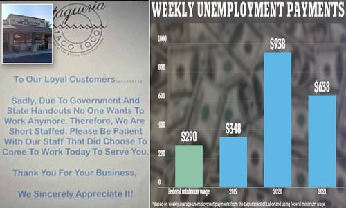 Restaurant owner blames 'government state handouts' for slow service