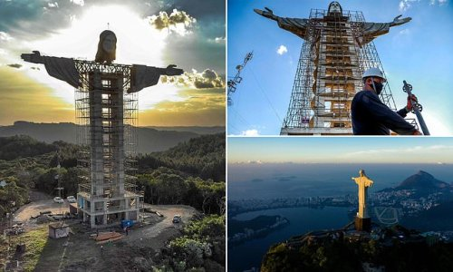 Brazil builds 140ft statue of Jesus higher than Christ the Redeemer
