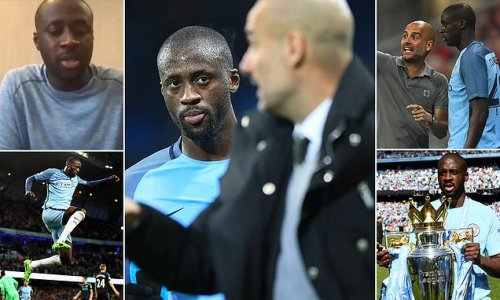 Yaya Toure reveals he's trying to end feud with Pep Guardiola