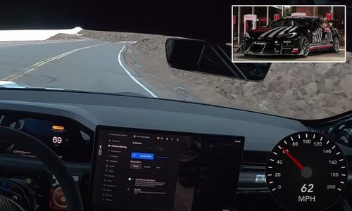 See Tesla's Model S Plaid in action as it climbs a 14,000ft mountain