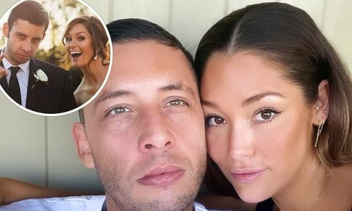 Example and wife Erin McNaught celebrate anniversary
