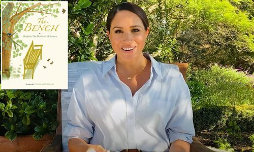 Meghan Markle appears on YouTube channel to read The Bench