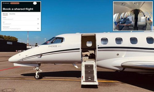 Now air passengers can book cut-price seats on shared private jets