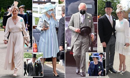 Mike and Zara Tindall lead the glamour on the first day of Royal Ascot