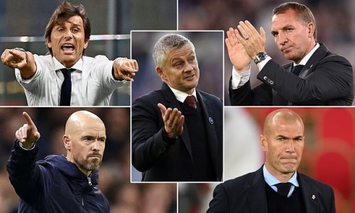 Manchester United 'draw up four-man shortlist to replace manager Ole'
