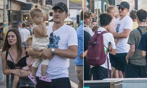 Harry Maguire unwinds with family in low-key holiday to Devon