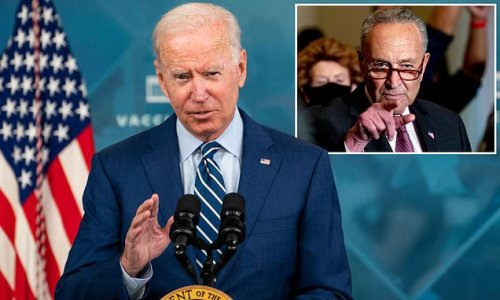 Biden CANCELS trip to Chicago to stay in DC for $3.5T budget talks