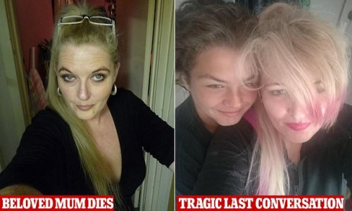 Brave teen's warning to anti-vaxxers after mum's Covid death