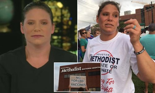 Nurse fired by hospital for not getting vaccinated says she's immune