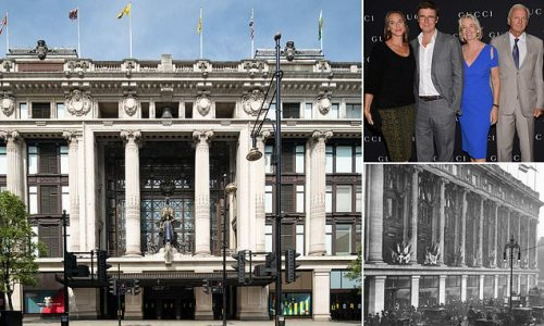 Weston family put world-famous Selfridges up for sale for £4billion