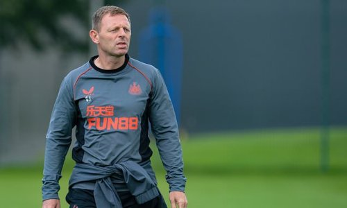 Graeme Jones will take charge of Newcastle's next two matches