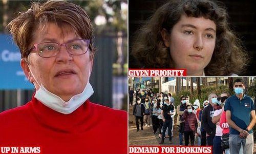Regional Aussies' jabs cancelled and given to Sydney's HSC students