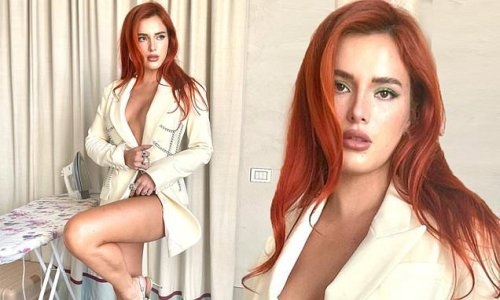 Bella Thorne confesses 'I don't know how to iron' with dolled up snaps