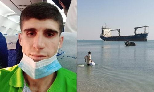 Sailor forced to live alone on a ghost ship in Egypt for FOUR YEARS