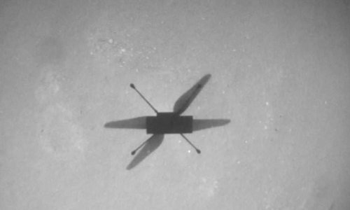 NASA's Ingenuity helicopter completes its 14th flight on Mars