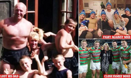 Sam Burgess opens up on footy star father's 'terrible, tragic' death