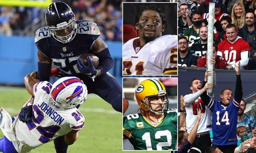 NFL WEEK SIX: Henry could be the GOAT, don't make Aaron angry