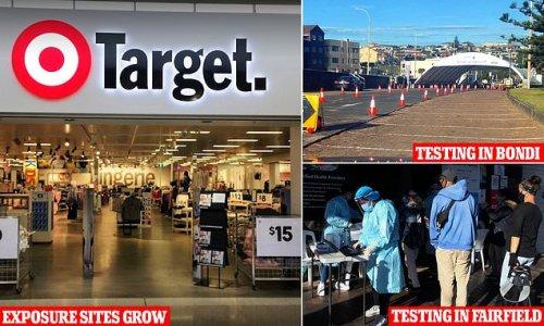Bondi's empty Covid testing centres and new exposure sites revealed