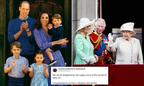 Queen and Prince Charles delighted at Harry and Meghan's second child