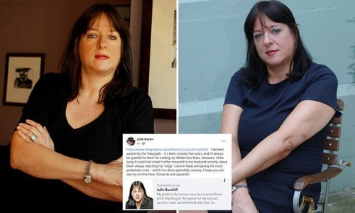 JULIE BURCHILL reveals why she won't be silenced
