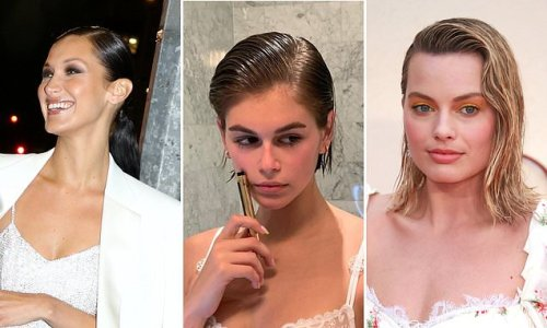 Stylist reveals how to achieve the wet-look hair trend loved by celebs