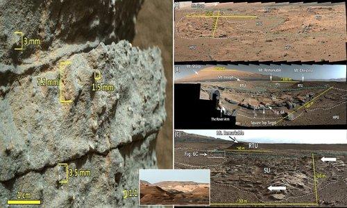 NASA's Curiosity finds evidence of ancient 'megaflood' on Mars