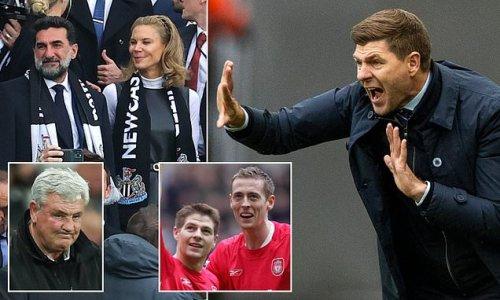 PETER CROUCH: Steven Gerrard should SWERVE the Newcastle job