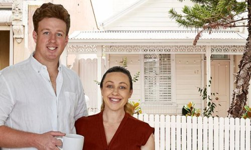 The Block's Josh and Jenna list North Melbourne 'forever home'